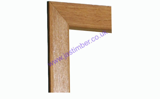 "OAK 3"" MODERN Profile ARCHITRAVE SET - OARSET-RD XL"