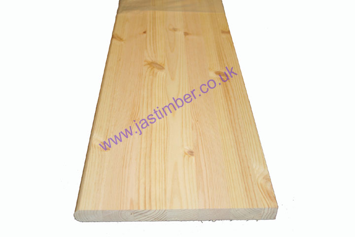 "12"" Engineered Pine Window Board ex 26x290mm Redwood Timber - Length"