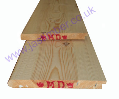 "Scandinavian Pine solid timber 9"" Windowboard - nosed & tongued"