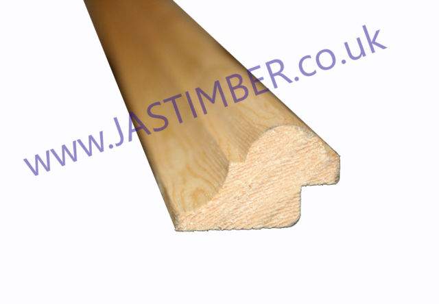 Bolection Moulding 40x28mm rebated 10x8mm - 2.1 Metre - PM22821 Solid Pine Winther Browne PM22821 - Clearance Item