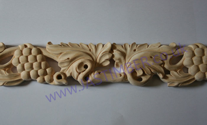Grape and Leaf Moulding - HC230